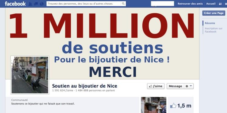 Soutien au bijoutier sur Facebook: la mobilisation sur les réseaux sociaux s'amplifie