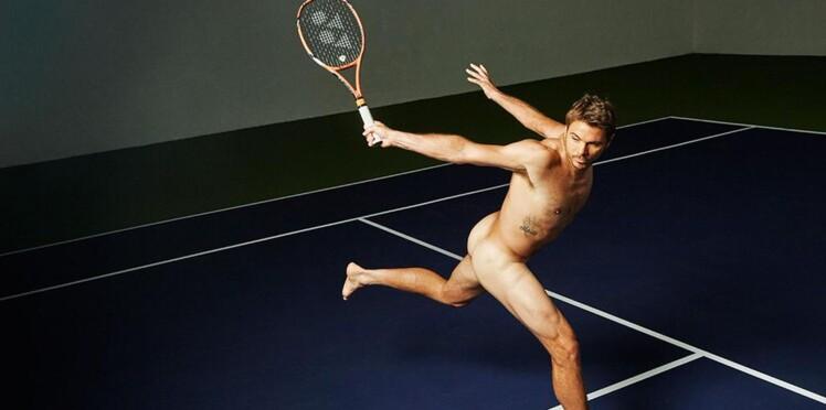 Spécial canicule : le tennisman Stanislas Wawrinka tombe le short et pose tout nu (photos)