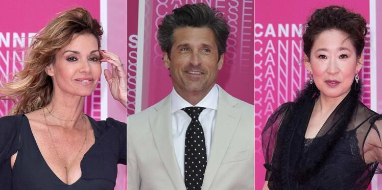 Ingrid Chauvin, Patrick Dempsey, Sandra Oh… Les stars inaugurent le tapis rose de Cannes Séries