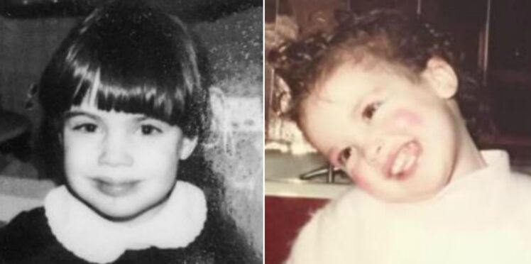 Photos - Alessandra Sublet, Alysson Paradis, Estelle Denis... Les stars postent des clichés d'elles enfants pour les Droits des Filles