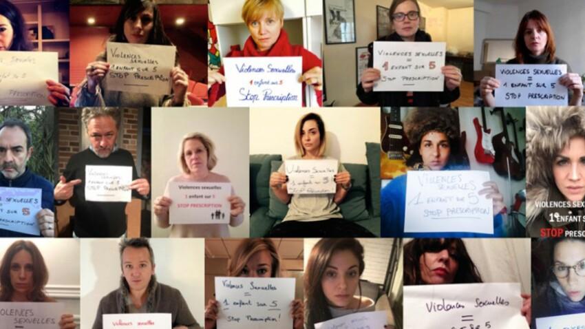 Acteurs, journalistes, chanteurs : ils défendent la fin de la prescription des viols sur mineurs