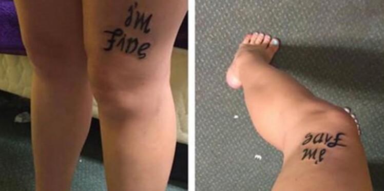 Un tatouage à double sens pour parler de la dépression