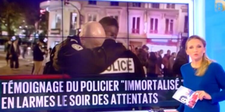Attentats de Paris: François, le policier en larmes, témoigne