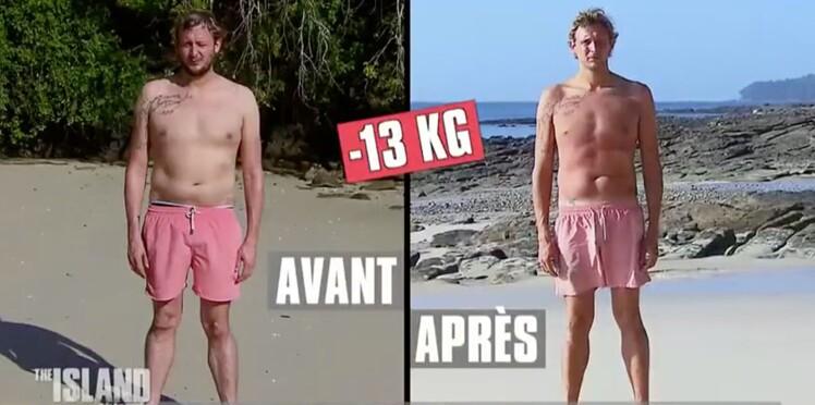 The Island Célébrités : combien de kilos ont perdu les candidats ?
