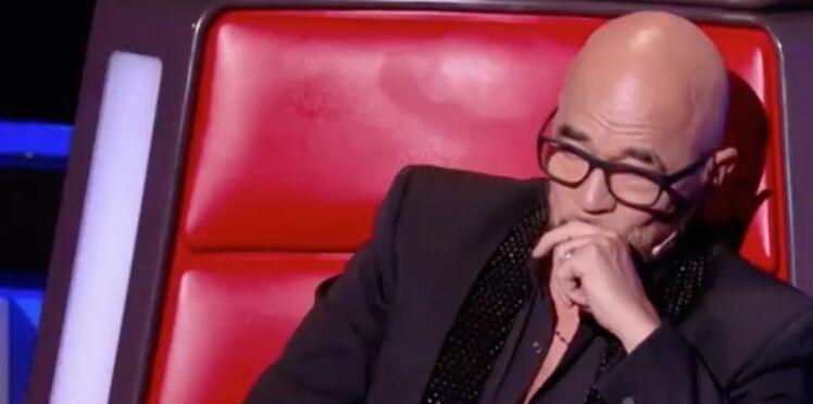 The Voice: Pascal Obispo en larmes pour sa première émission