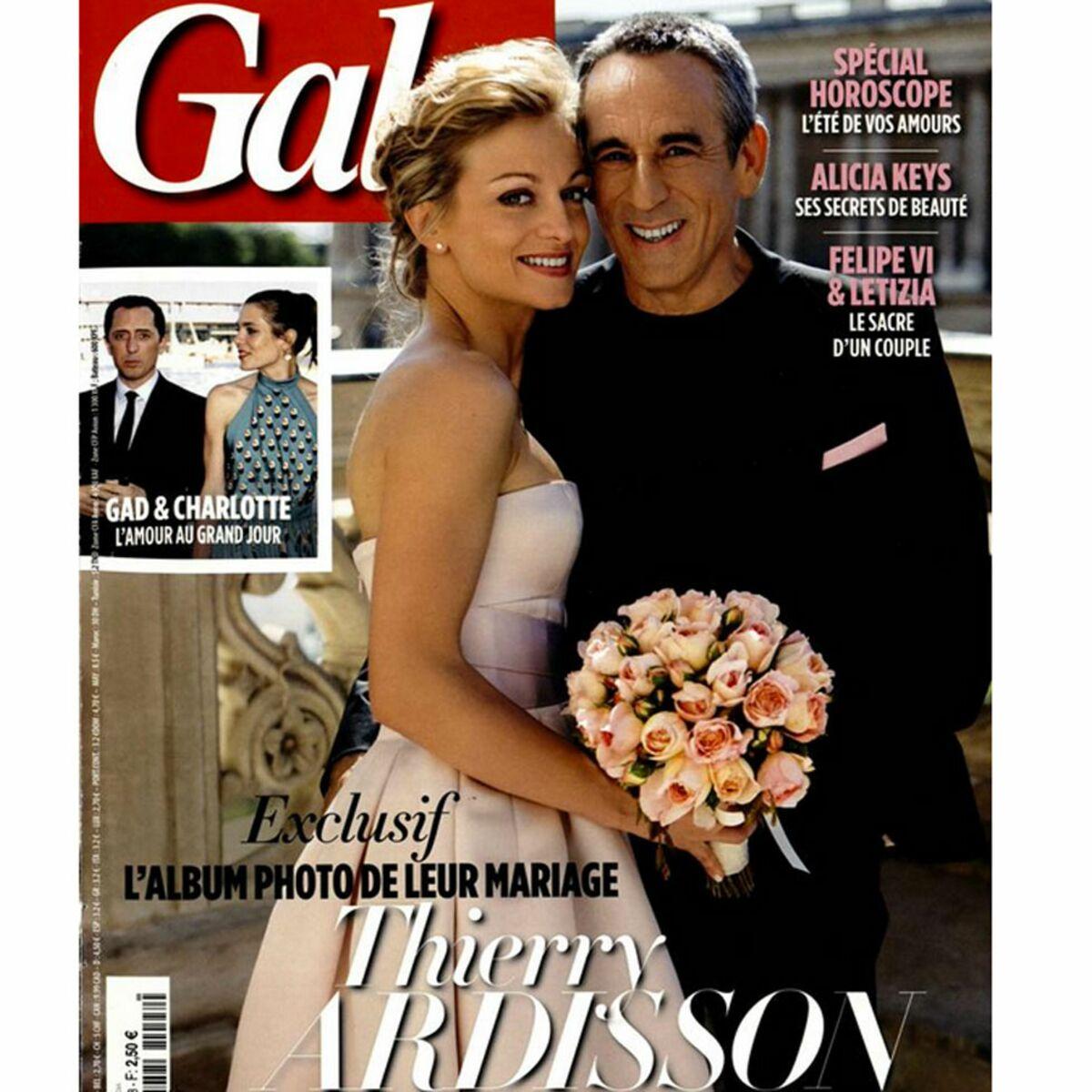 Thierry Ardisson Son Mariage Surprise Avec Audrey Crespo Mara Femme Actuelle Le Mag
