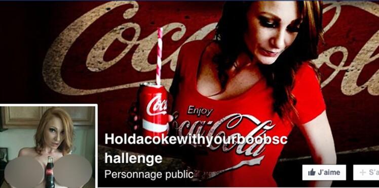 « Tiens un Coca entre tes seins » : le défi qui fait scandale