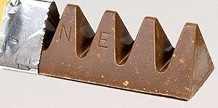 Photos : moins de chocolat, plus d'espace entre les triangles, le Toblerone change de forme
