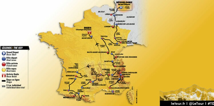 Tour de France 2017: c'est quoi ce parcours (déjà moqué) ?!