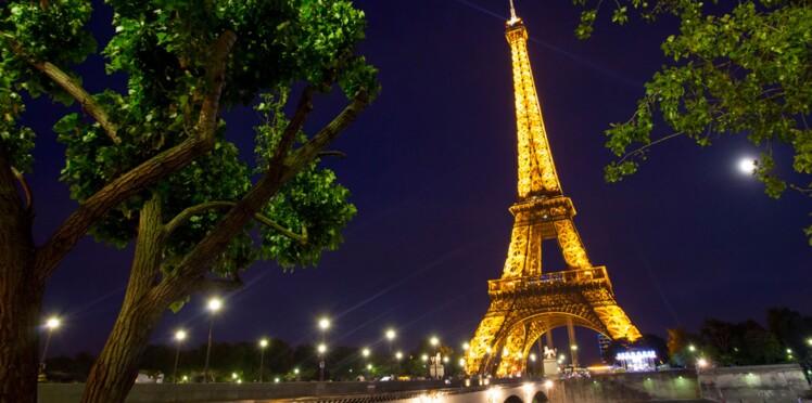 La Tour Eiffel illuminée ce soir aux couleurs de la Belgique