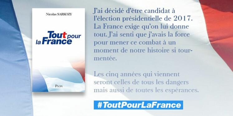 """Ce qu'il faut savoir sur """"Tout pour la France"""", le livre-programme de Nicolas Sarkozy"""