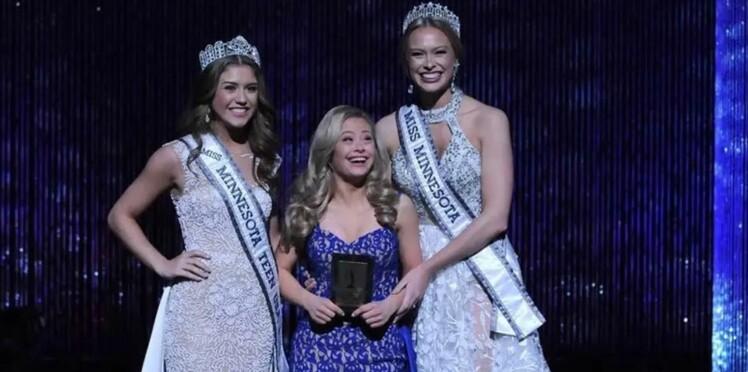 Une Américaine atteinte de trisomie remporte un prix lors d'un concours de Miss USA