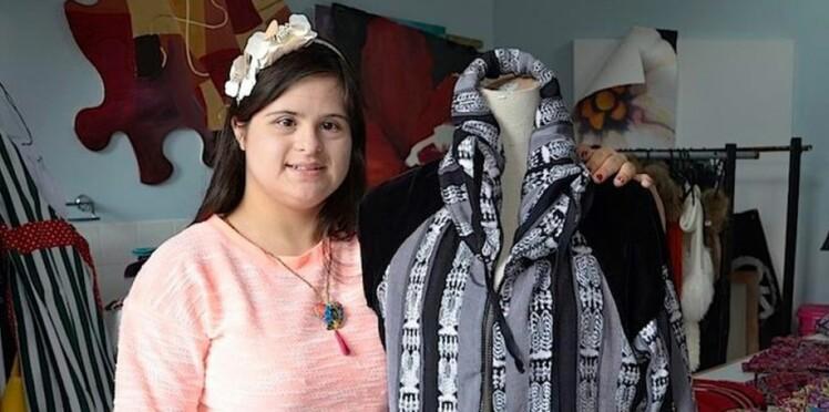 Atteinte de trisomie, cette jeune styliste présente sa collection à la Fashion Week de Londres