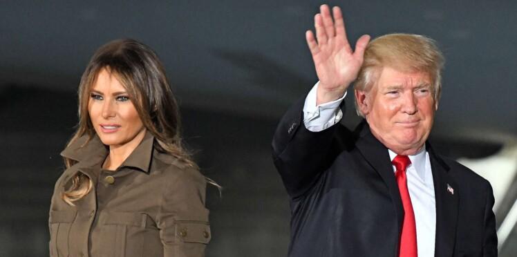 Trump intrigue avec ce geste étrange envers Melania