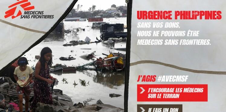 Typhon aux Philippines : les humanitaires se mobilisent