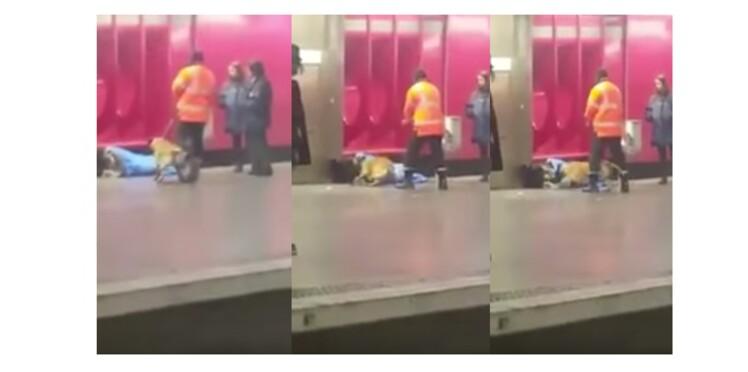 VIDEO - Un agent RATP agresse un SDF avec son chien