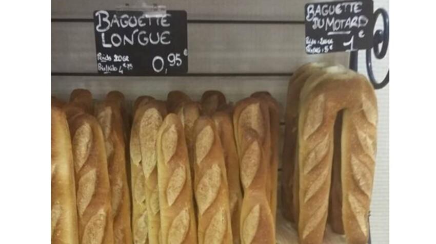 Un boulanger invente la baguette du motard, les internautes l'applaudissent