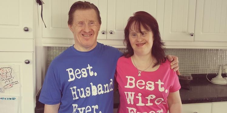 Un couple, atteint de trisomie 21, célèbre ses 22 ans de mariage