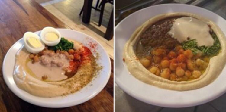 Un resto divise l'addition pour les Juifs et les Arabes qui mangent ensemble