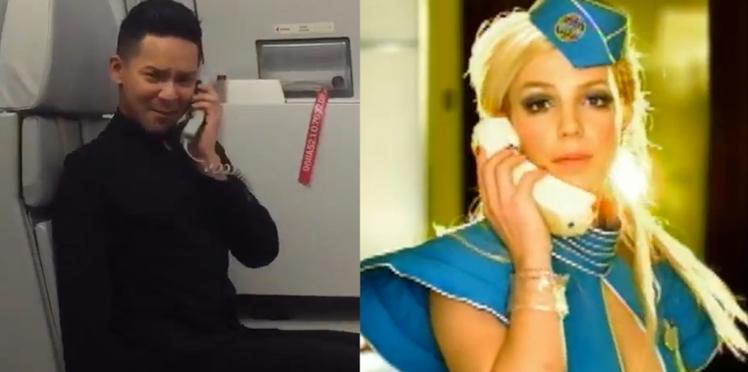 Un steward rejoue Toxic de Britney Spears et le résultat est juste génial !