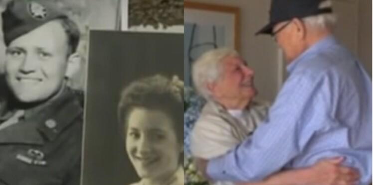 À 93 ans, un vétéran de la seconde guerre mondiale retrouve son amour de jeunesse