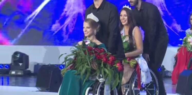 Une Biélorusse de 23 ans, première Miss monde en fauteuil roulant