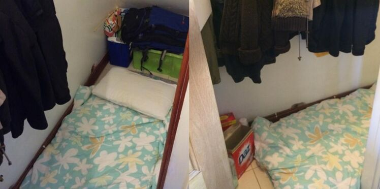 Londres : 680 euros de loyer pour une chambre sous un escalier