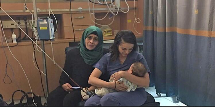 Quand une infirmière israélienne sauve un bébé palestinien en l'allaitant