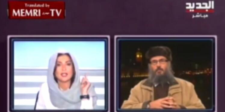 Une journaliste libanaise remet à sa place un islamiste