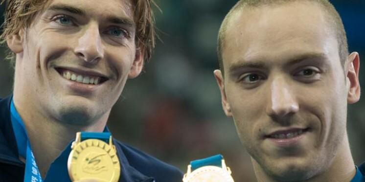 Une médaille d'or pour Camille Lacourt et Jérémy Stravius