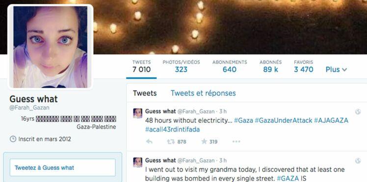 Choquant, une Palestinienne live-twitte Gaza en pleine guerre