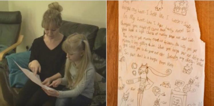 """""""Chers cambrioleurs, trouvez-vous un travail"""" : la lettre d'une petite fille à ses voleurs"""
