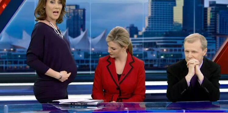 Insultée parce qu'enceinte, une présentatrice répond à ses détracteurs