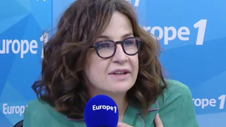 Valérie Lemercier : on en a rêvé, elle l'a fait : elle est arrivée en pyjama pour une interview