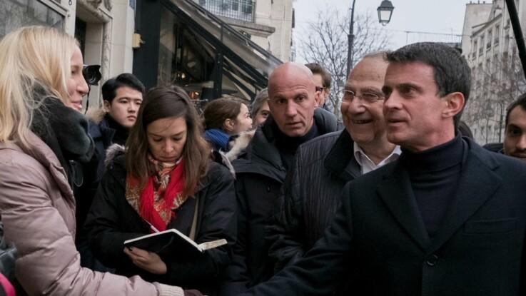 VIDÉO - Valls enfariné par un jeune homme à Strasbourg