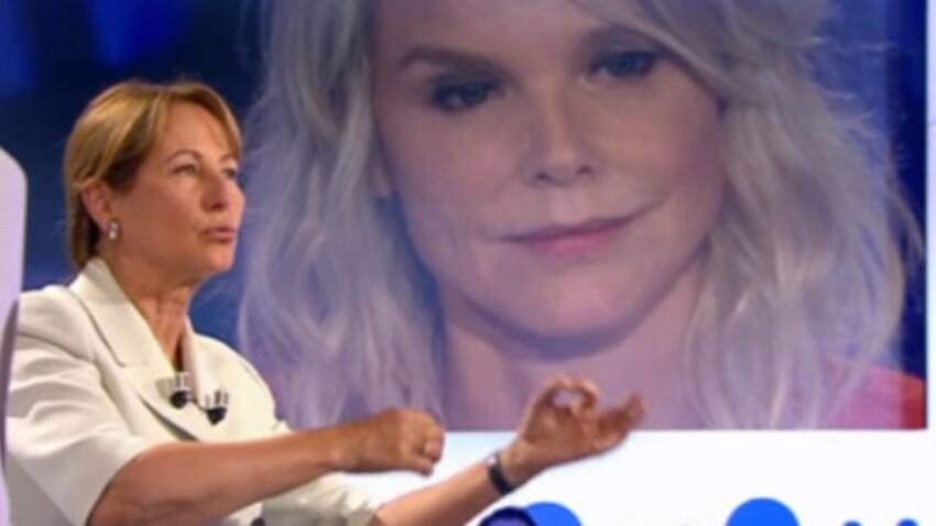 """VIDEO - Vanessa Burggraf se fait moucher par Ségolène Royal dans """"On n'est pas couché"""""""