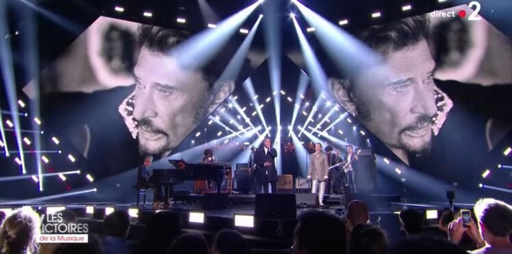 Victoires de la Musique 2018 : le poignant hommage à Johnny Hallyday