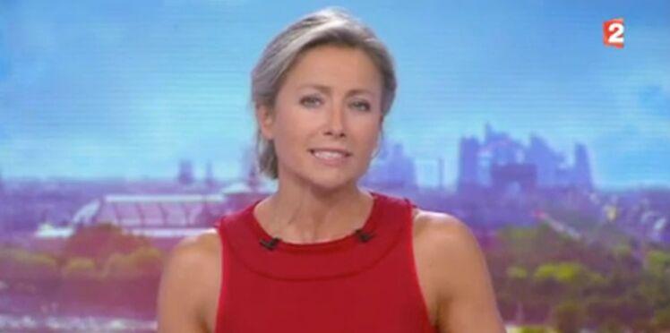 Vidéo - Anne-Sophie Lapix : stress palpable pour ses premiers pas au 20h de France 2