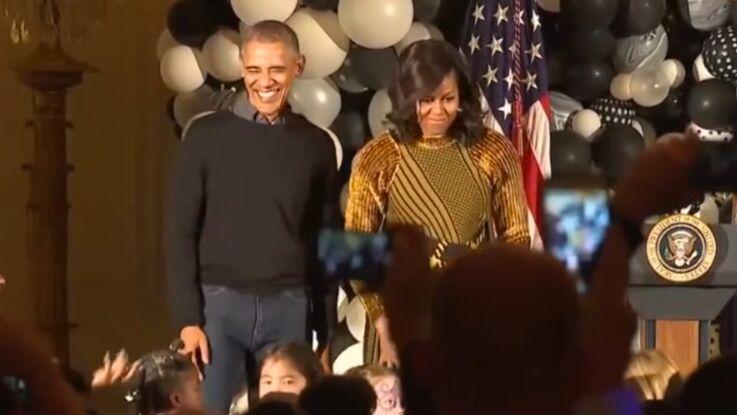 Vidéo : Barack et Michelle Obama, leur dernière danse à la Maison Blanche