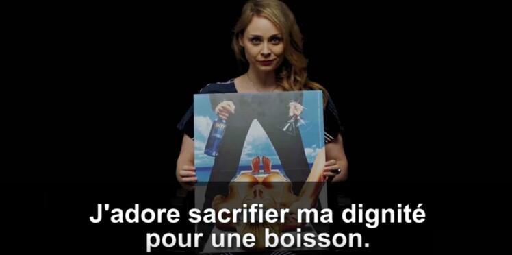 """Vidéo contre le sexisme dans la pub : """"ma poitrine peut vendre n'importe quoi"""""""