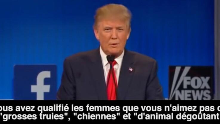 Vidéo : Donald Trump en 10 phrases sexistes