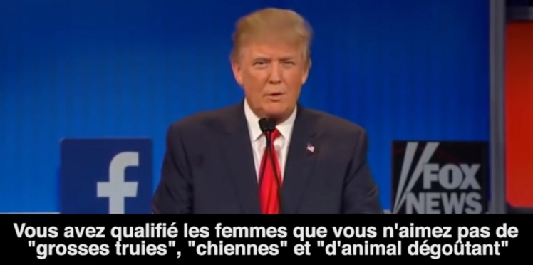 Vidéo : Donald Trump en 10 phrases sexistes