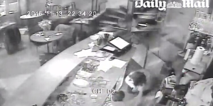 Vidéo du restaurant Casa nostra: le ton monte entre le gérant et le Petit journal