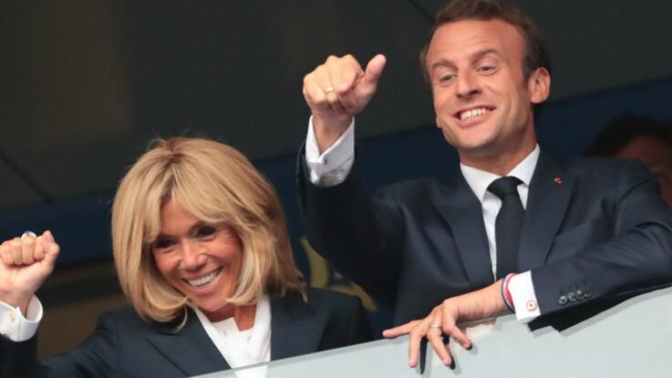 Vidéo - Emmanuel et Brigitte Macron s'éclatent  avec les joueurs dans les vestiaires après la finale