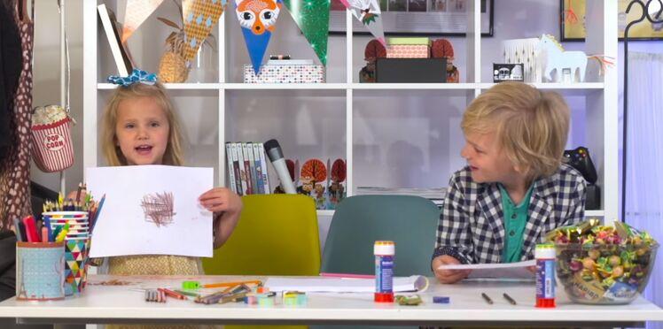 Vidéo mignonne : quand les enfants dessinent leur papa, voilà ce que ça donne