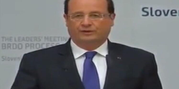 """Quand François Hollande confond la """"Macédonie"""" et la Macédoine... (vidéo)"""