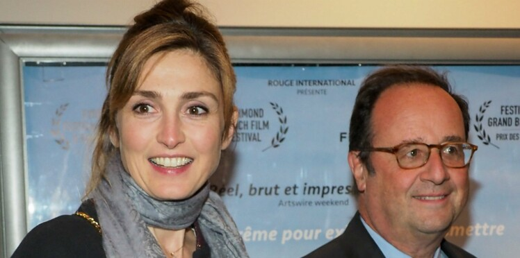 Vidéo - François Hollande et Julie Gayet se câlinent devant les caméras