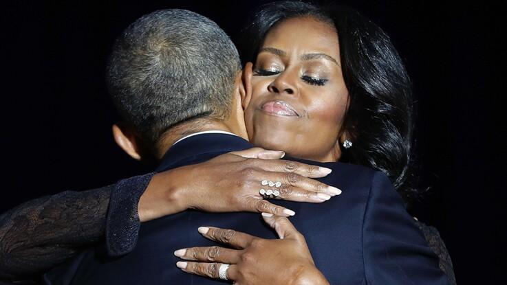 """Vidéo - """"Tu m'as rendu fier"""" : l'hommage émouvant de Barack à Michelle Obama"""