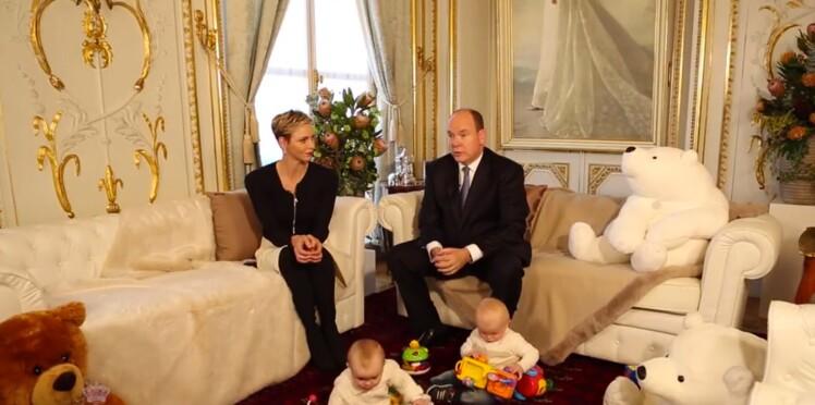 Charlène et Albert de Monaco dévoilent une vidéo des jumeaux pour la fin d'année