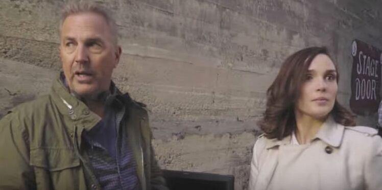 Vidéo - Kevin Costner et Camille Lou ensemble dans une pub pour la SNCF